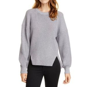 NWOT Joie Silver Gray Cicilia Sweater